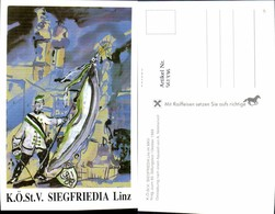 561336,Studentika Studentica A. Nimmervoll KÖStV Siegfriedia Linz Im MKV 1989 - Schulen