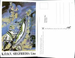 561337,Studentika Studentica A. Nimmervoll KÖStV Siegfriedia Linz Im MKV 1989 - Schulen