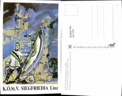 561338,Studentika Studentica A. Nimmervoll KÖStV Siegfriedia Linz Im MKV 1989 - Schulen