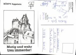 561348,Studentika Studentica KÖStV Aggstein Ruine - Schulen