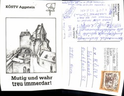 561349,Studentika Studentica KÖStV Aggstein Ruine - Schulen