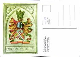561356,Studentika Studentica Couleurkarte 1930 KHV Babenberg Wien Stiftungsfest 1985 - Schulen