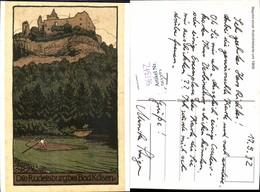 561372,Studentika Studentica Rudelsburg B. Bad Kösen Reprint 1900 - Schulen