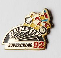 Pin's Moto Supercross Dunlop - A1 - Autres