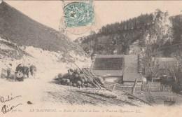 CPA - VILLARD DE LANS - ROUTE DE VILLARD DE LANS A PONT EN ROYANS - Villard-de-Lans