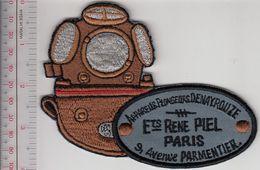 SCUBA Hard Hat Diving France Etablissements Rene Piel Appa Denayrouze Paris Grey - Diving