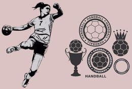 [ T24-064 ]  Handball Handbal , China Pre-stamped Card, Postal Stationery - Handball