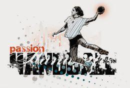 [ T24-065 ]  Handball Handbal , China Pre-stamped Card, Postal Stationery - Handball