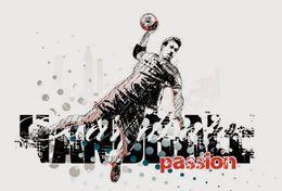 [ T24-066 ]  Handball Handbal , China Pre-stamped Card, Postal Stationery - Handball