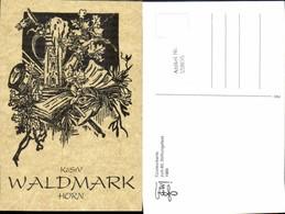 558695,Studentika Studentica Waldmark Horn 1989 Stiftungsfest Couleurkarte - Schulen