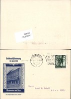 561430,Braunau Am Inn Volksabstimmung 10. April 1938 M. Stempel !!! - Weltkrieg 1939-45