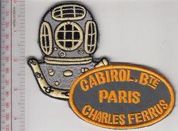 SCUBA Hard Hat Diving France Specialités Mécaniques Réunis Cabirol Charles Ferrus 12 Bolts Diving Helmet Paris Grey - Diving