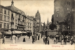 Cp Kaliningrad Königsberg Ostpreußen, Kantstraße, Straßenpartie - Illustrateurs & Photographes