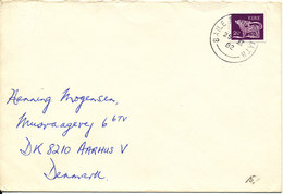Ireland Cover Sent To Denmark 25-11-1982 Single Franked - 1949-... Republic Of Ireland