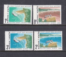 Samoa SG 265-268 1966 Opening Of First Deep Sea Wharf,mint Never Hinged, - Samoa