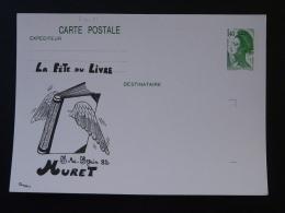31 Haute Garonne Muret Fete Du Livre Book Festival Entier Postal Liberté De Gandon Stationery Card - Entiers Postaux