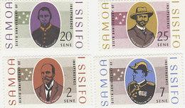 Samoa SG 294-297 1968 6th Aniversary Of Independence MNH - Samoa