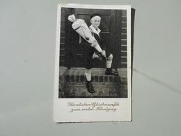 FÊTES VŒUX PREMIER JOUR D'ÉCOLE HERZLICHEN GLÜCKWUNFCH ZUM ERSTEN SCHULGANG - Premier Jour D'école