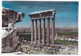 Lebanon Baalbek - The Six Columns Of Jupiter Temple - Lebanon