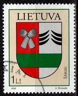 Litauen SG Nr. 884  Gestempelt (3637) - Lithuania