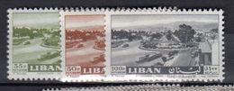 1961  Air Mail Dora MNH Set (82) - Libanon