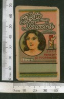 India Vintage Trade Label Pyorrhoea Tooth Powder Label Women Dental # LBL77 - Etiquettes