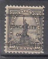 USA Precancel Vorausentwertung Preo, Locals Oklahoma, Ponca City 696-247 - United States
