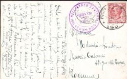 """280° Reggimento Fanteria, Timbro Su Cartolina 1918 """"passa L'amore, A.Trialdi"""" - Guerra 1914-18"""