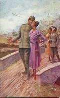 Ritorno In Licenza, Resistere Per Vincere, Illustratore Tridentinum - Guerra 1914-18