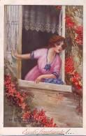 Eccolo Finalmente! In Corrispondenza  1919, Illustratore M.Santino - Guerra 1914-18