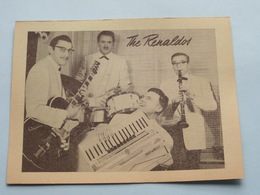 The RENALDOS Dansorkest (  Café DANCING STARLIGHT Montignystraat 148 Antwerpen ) Anno 19?? ( Zie Foto Details ) !! - Plakate & Poster