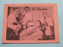 The RENALDOS Dansorkest (  Café DANCING STARLIGHT Montignystraat 148 Antwerpen ) Anno 19?? ( Zie Foto Details ) !! - Posters