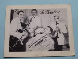 The RENALDOS Dansorkest ( Schildersstraat 45 Antwerpen ) Anno 19?? ( Zie Foto Details ) !! - Posters