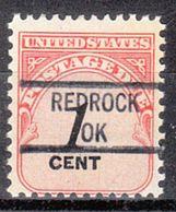 USA Precancel Vorausentwertung Preo, Locals Oklahoma, Redrock 841 - Vereinigte Staaten