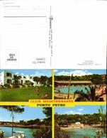 559006,Mehrbild Ak Spain Mallorca Porto Petro Club Mediterranee Hotel Pool - Spanien