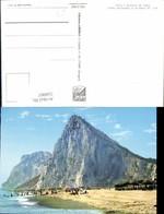 559007,Spain Cadiz La Linea De La Concepcion Penon De Gibraltar Y Playa Strandleben - Spanien