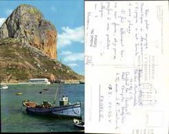 558984,Spain Penon De Ifach Alicante Puerto El Penon Hafen Felsen Boot - Spanien