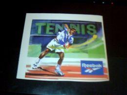 Autocolant Publicitaire Sportif  Tennis Rebook Vetements - Stickers