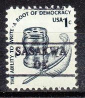 USA Precancel Vorausentwertung Preo, Locals Oklahoma, Sasakwa 882 - Vereinigte Staaten