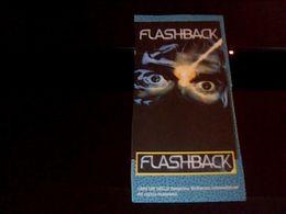 Autocolant Publicitaire Flashback  1993 Gold Delphine Software - Stickers