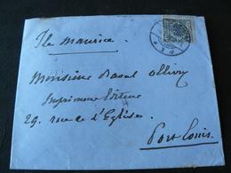 1892 OLD AND BEAUTIFUL LETTER GO FRO GERMANY TO POLAND ...//...ANTICA LETTERA VIAGGIATA DALLA GERMANIA X POLONIA - Alemania