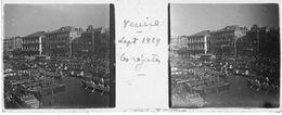 PP 139 -ITALIE - VENISE - Les Régates Sept 1929 - Glass Slides