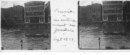 PP 140 - ITALIE - VENISE - Un Enterrement En Gondole  Sept 1929 - Glass Slides