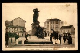 ITALIE - ALBA - PIAZZA A UMBERTO I -  MONUMENTO AI CADUTI - Italie