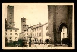 ITALIE - ALBA - PIAZZA VITTORIO EMANUELE II - PALAZZO MUNICIPALE - Italie