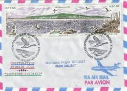 Lot De 15 Enveloppes 1991 Dont PA Ayant Circulées - Collections, Lots & Séries