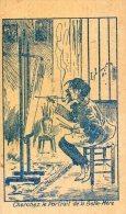 """PUBLICITE CRYSTALL'S BAR """" CHERCHEZ LE PORTRAIT DE LA BELLE MERE""""( LOT V5) - Chromos"""