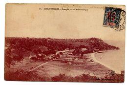 Carte Postale Diego-Suarez 1913 - Orangéa - Timbre Type 1892 15 C Surcharger 05 Rouge - Sultanat D'Anjouan - Madagaskar