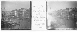 PP 143 - ITALIE - VENISE -  Les Régates Vues De La Casa Pétrarca  Sept 1929 - Glass Slides