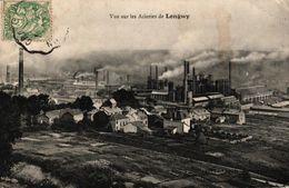 VUE SUR LES ACIERIES DE LONGWY - Longwy